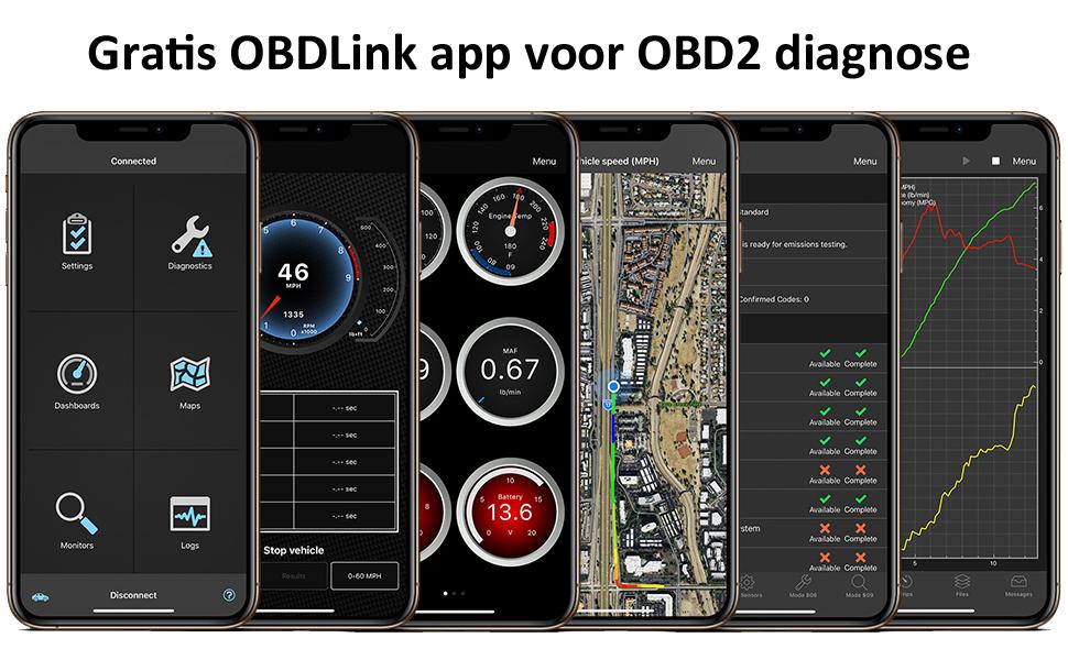 OBDLink app