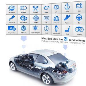 Autel MS908 Elite service mogelijkheden