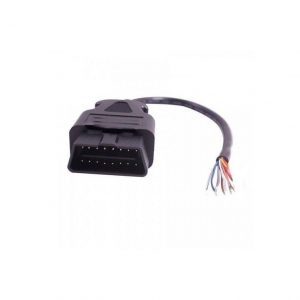 Obd2 male open eind