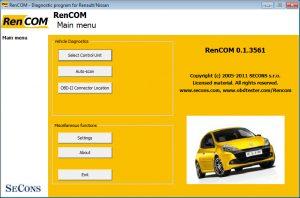 Rencom diagnose software