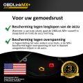 OBD Link MX veiligheid