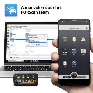 OBD Link MX Forscan aanbeveling