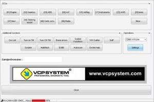 Vcpsystem software